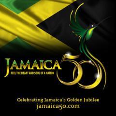 Jamaica 50 Branding