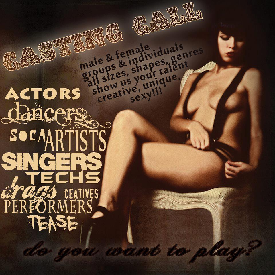 CirqueDLB Casting Flyer 2