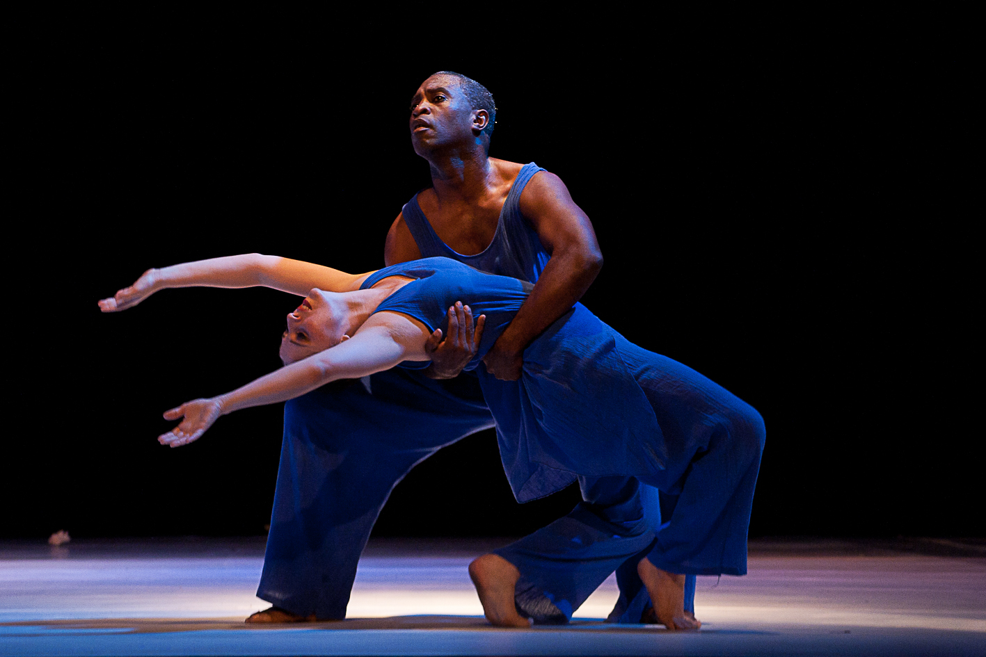 As one of Coreoarte's leading dancers, Trinidad and Tobago's Terry Springer brings his Caribbean essence to the stage in this duet. Photo courtesy Coreoarte.